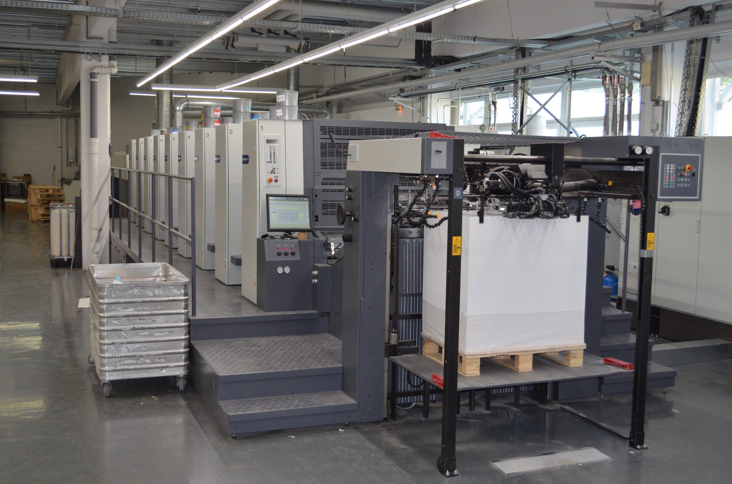 Um- und Neugestaltung einer Fabrik (Druckindustrie)