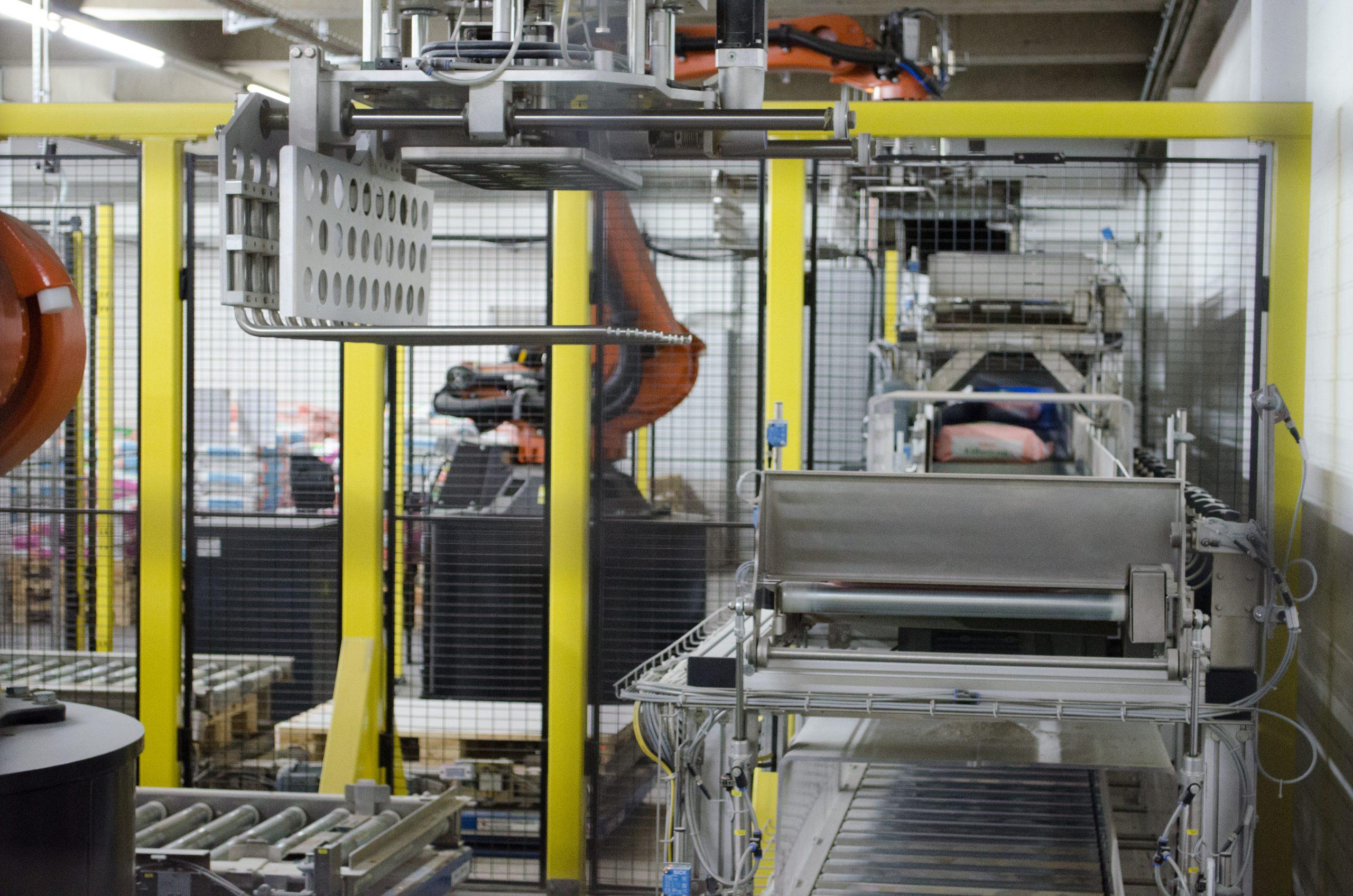 Planung der Intralogistik im Rahmen einer Werkserweiterung (Futtermittelindustrie)