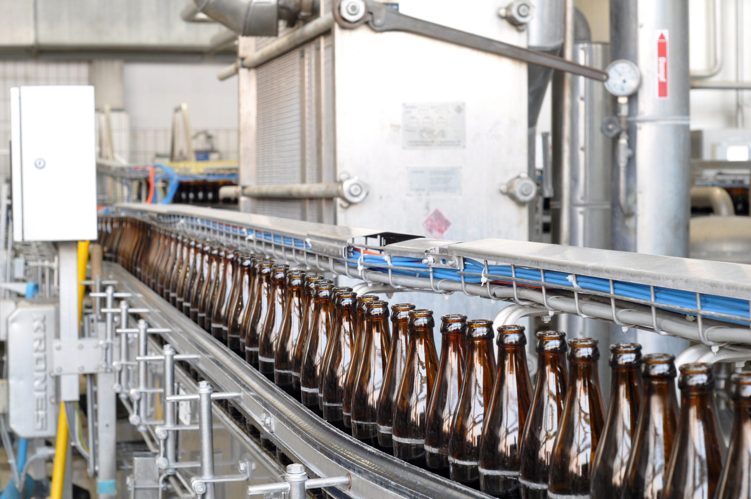 Neuplanung der Produktion und des Versandlagers (Getränkeindustrie)