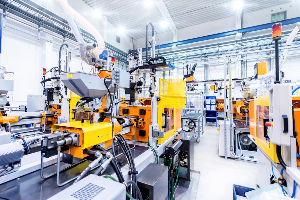 Zukunftsweisende Werksneuplanung (Kunststoffindustrie)